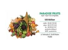 Компания PARADISE FRUITS